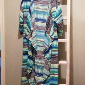 Women's Medium Lularoe Shirley Kimono